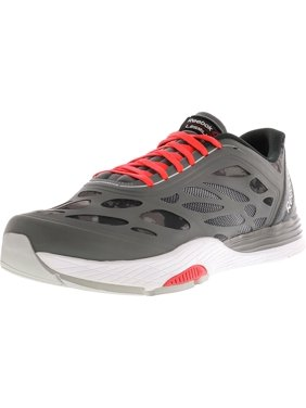 Product Image Reebok Men s Lm Cardio Ultra Grey   Pewter Cherry Black Ankle-High  Running Shoe - a9fc5b5bb