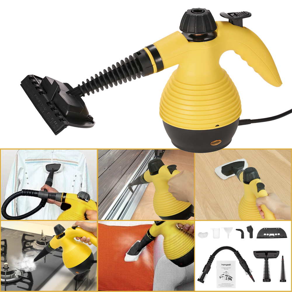 Homgeek Brand New Portable Multifunction HTHP Steamer Household Steam Cleaner