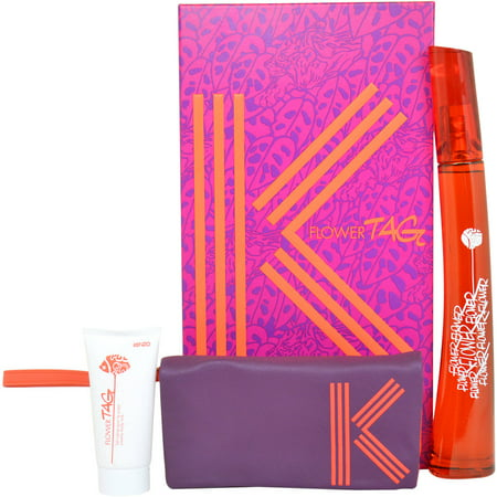 Kenzo Flower Tag Gift Set, 3 pc