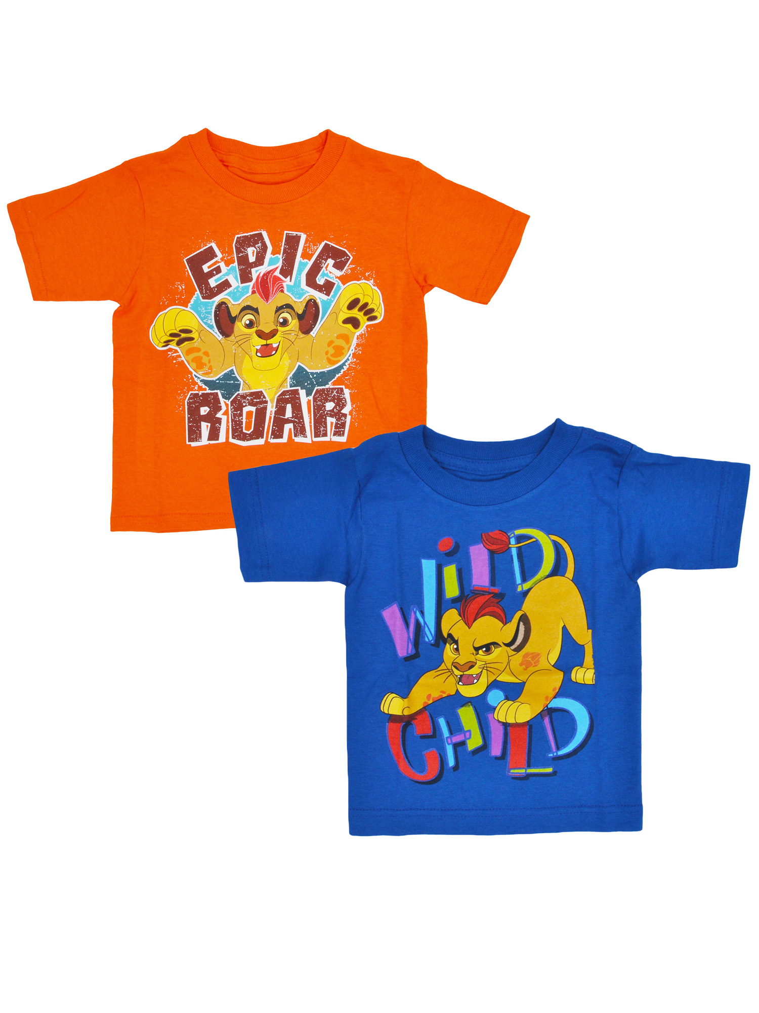 Toddler Boys The Lion Guard Kion T-Shirts Size 2T (2-PACK)