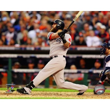 Mike Napoli Home Run Game 3 Of The 2013 American League Championship Series Action Photo Print