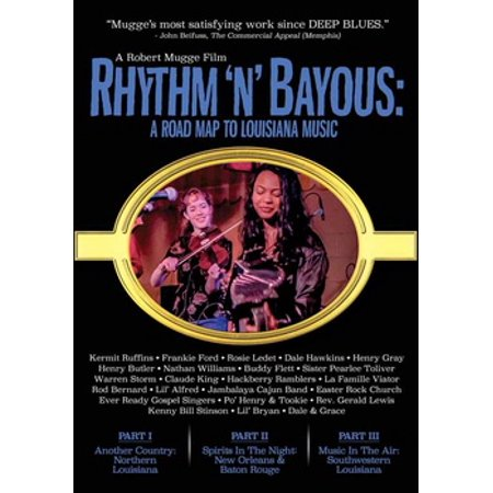 Rhythm N Bayous: Road Map to Louisiana Music (DVD)