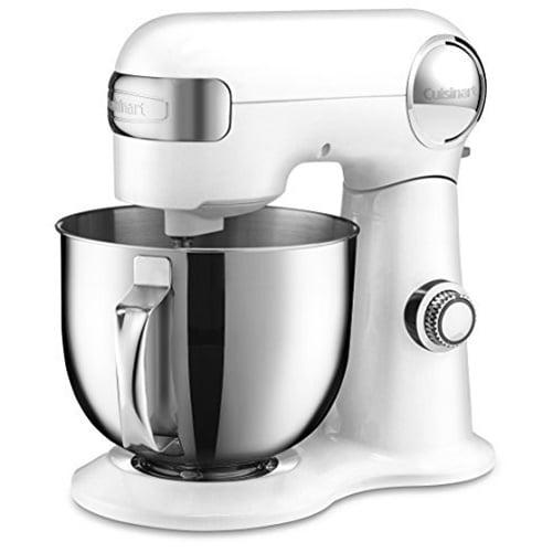 Cuisinart 5.5 Quart Stand Mixer, White (SM-50)