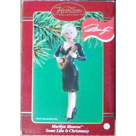 Marilyn monroe some like it christmasy 2002 carlton cards marilyn monroe some like it christmasy 2002 carlton cards christmas ornament dated 2002 by m4hsunfo