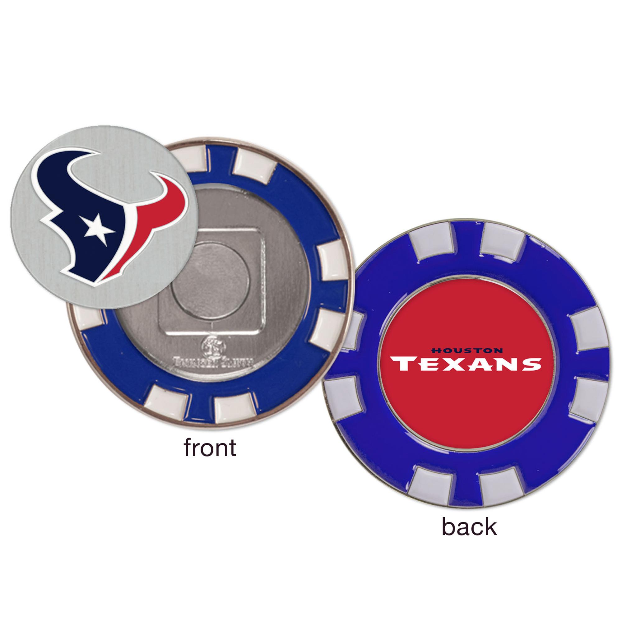 Houston Texans WinCraft Golf Poker Chip - No Size