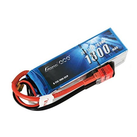 UPC 889551000093 product image for Gens ace 3S 1800mAh 11.1V 25C LiPo Battery Pack with Deans Plug for RC FPV  | upcitemdb.com