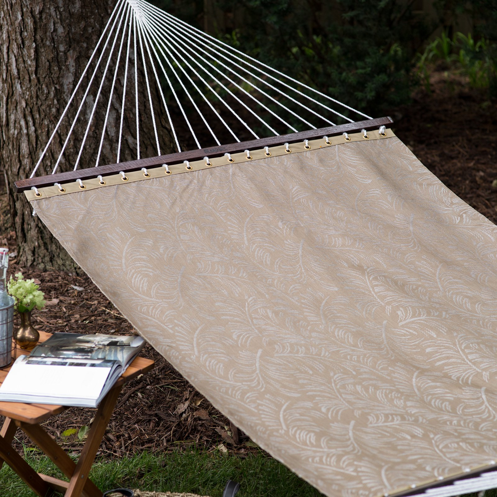 Coral Coast 13 ft. Poolside Quick Dry Taupe Palm Hammock