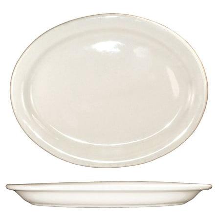 ITI VA-13 Platter, 11-1/2x9-1/4, American Wht, PK 12