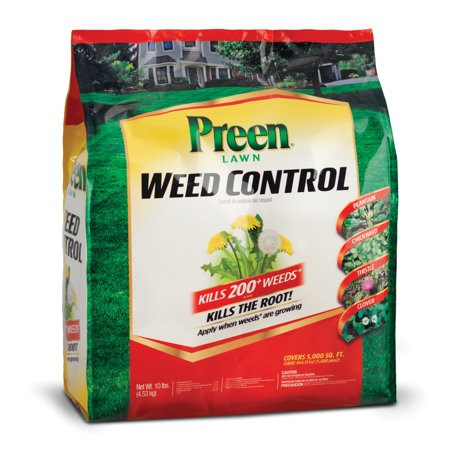 Preen Lawn Weed Control - 10 lb. - Covers 5,000 sq.