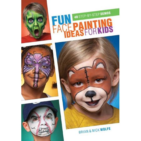 Fun Face Painting Ideas for Kids for $<!---->