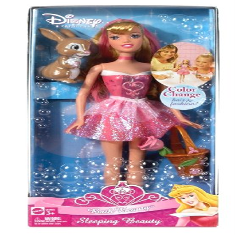 Disney Princess Bath Beauty Sleeping Beauty Doll by