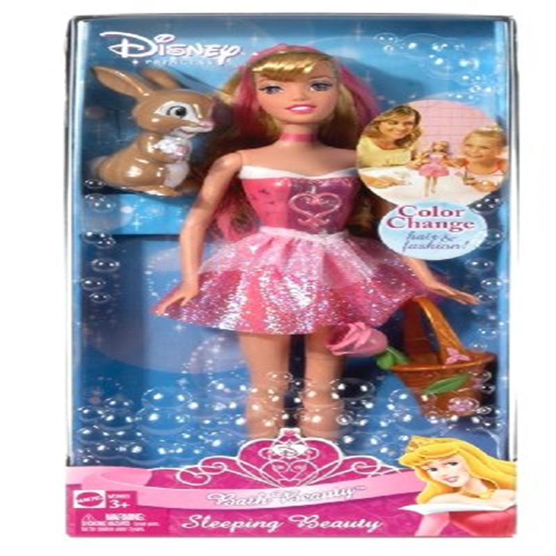 disney princess bath beauty sleeping beauty doll