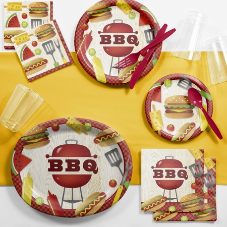 BBQ Time Deluxe Party Supplies - Bbq Party Supplies