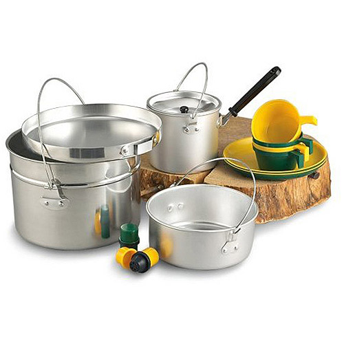 Texsport 4-Person Heavy-Duty Aluminum Cook Set