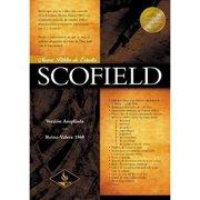 Nueva Biblia De Estudio Scofield: Version Ampliada Reina-Valera 1690, Black Bonded Leather