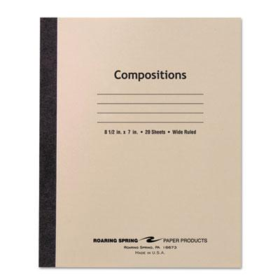 Roaring Spring Stitched Cover Composition Book