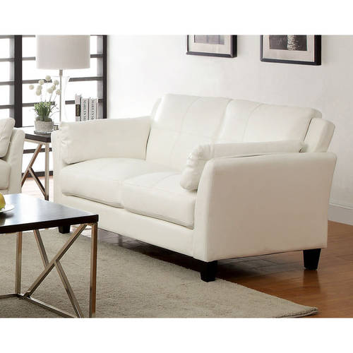 Furniture of America Roseanne II Contemporary Loveseat, Multiple Colors
