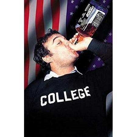 Animal House   John Belushi Drinking Jack Daniels   33.5x24 Movie Art Print Poster Photograph ()