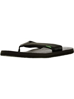 4fc224907584 Product Image Sanuk Men s Beer Cozy 2 Black Ankle-High Sandal - 9M