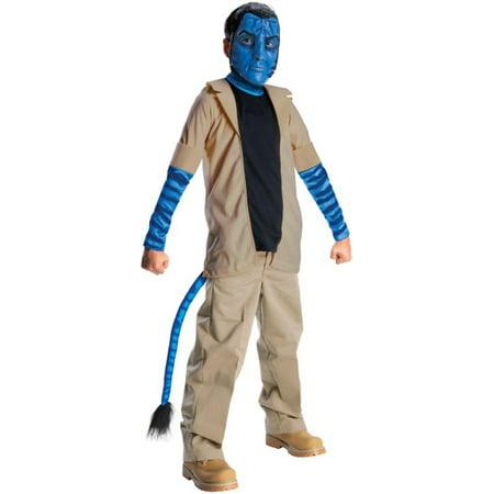 Avatar Costumes (Morris costumes RU884292LG Avatar Jake Sulley Child)