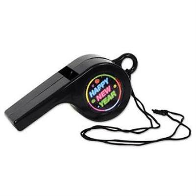 Happy New Year Giant Whistle, 2PK](Referee Bag)