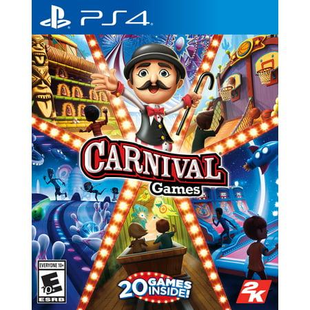 Carnival Games, 2K, PlayStation 4, 710425574757 - Carnaval Games
