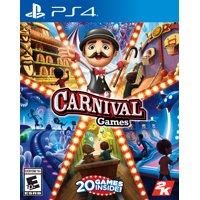 Carnival Games, 2K, PlayStation 4, 710425574757