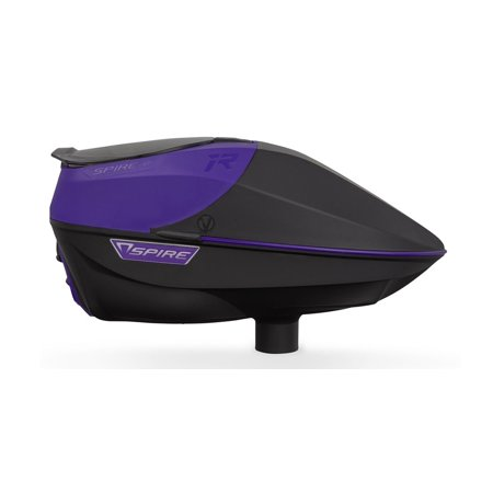 VIRTUE SPIRE IR ELECTRONIC PAINTBALL LOADERS / HOPPERS - PURPLE / BLACK