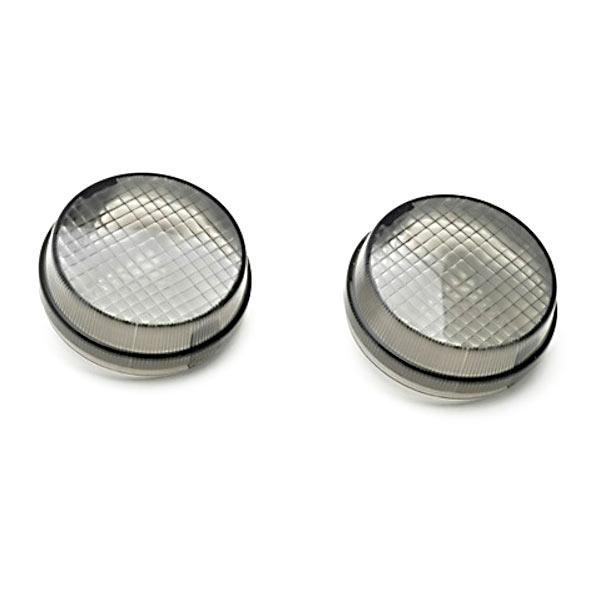 Krator Smoke Indicators Turn Signal Lenses Lens Front or Rear for 2005-2012 Suzuki Boulevard VZR1800 VS800 S50 VL1500 C90 and VZ800 M50 VS1400 S83 VL800 C50 VLR1800 C109R
