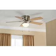 Kitchen ceiling fans 42 mainstays ceiling fan bowl hugger aloadofball Image collections