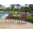 Mainstays Charleston Park 3-Piece Bistro Set