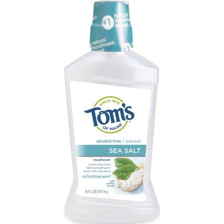 Tom's of Maine Sea Salt Mouthwash, 16oz