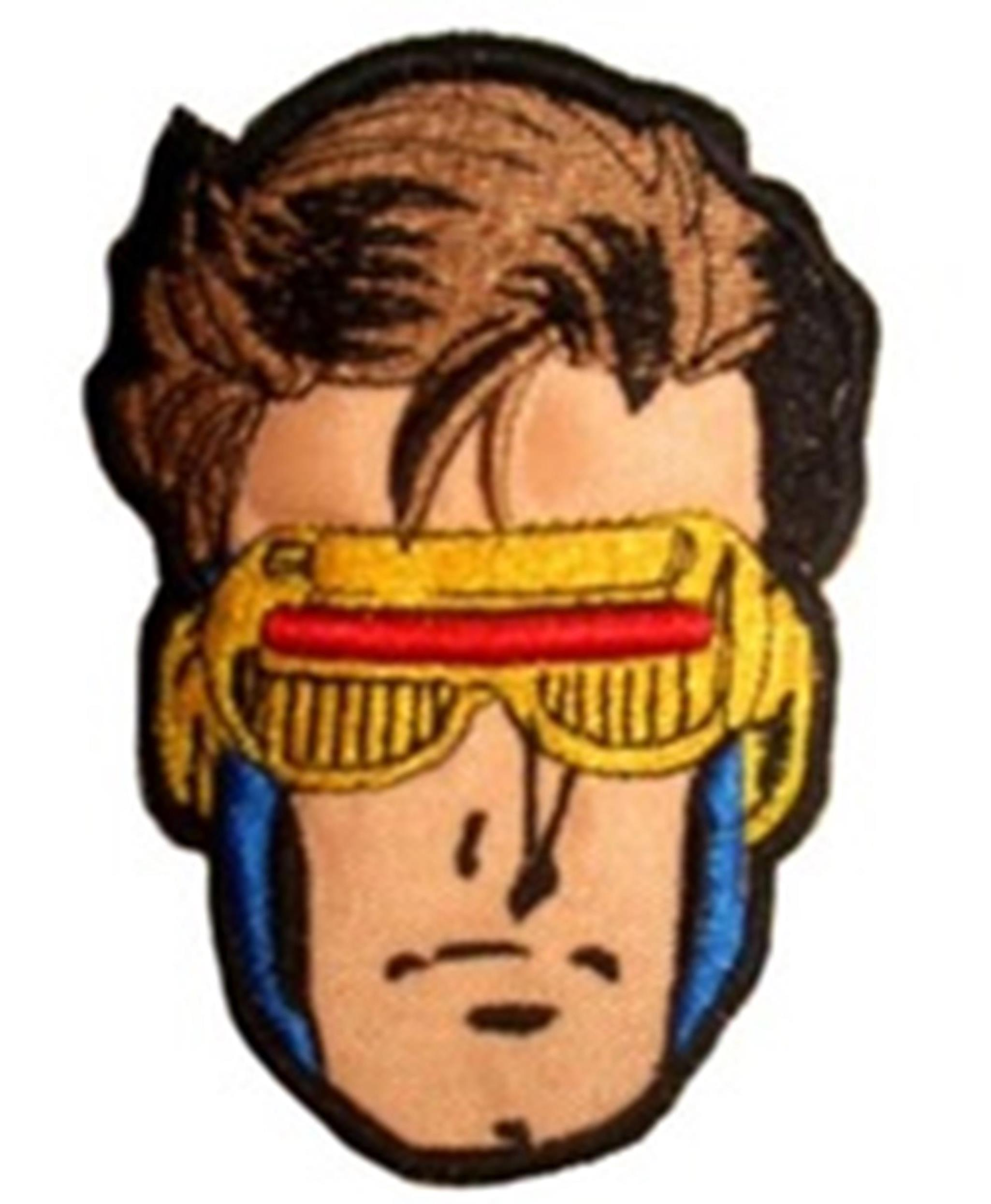 X-MEN CYCLOPS IRON ON EMBROIDERED PATCH APPLIQUE Marvel Comic Book Super Hero