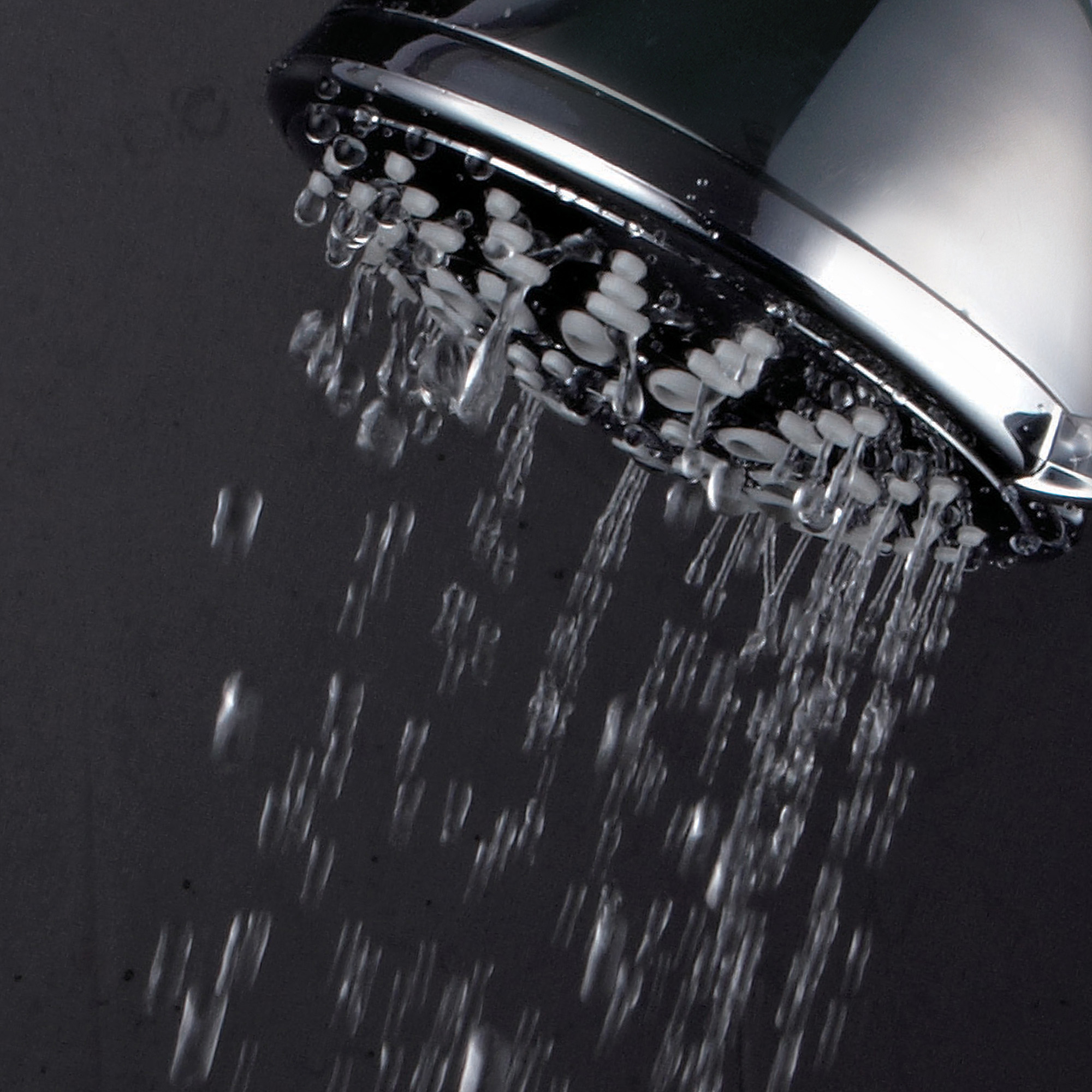 PowerSpa 7-Setting Luxury Showerhead with Quick-connect, Chrome