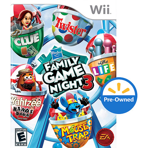 Hasbro Family Game Night 3 (Wii) - Pre-Owned