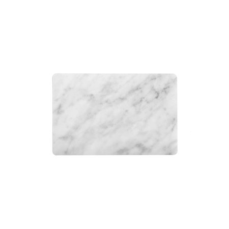 - Set of 2 Faux Carerra Marble Wipeable Placemat 13
