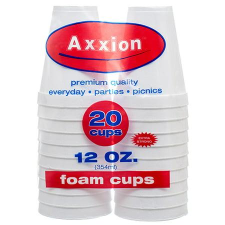 New 369409  Axxion Foam Cups 12 Oz 20 Ct (18-Pack) Plates Cheap Wholesale Discount Bulk Party Supplies Plates Fashion Accessories - Styrofoam Planes