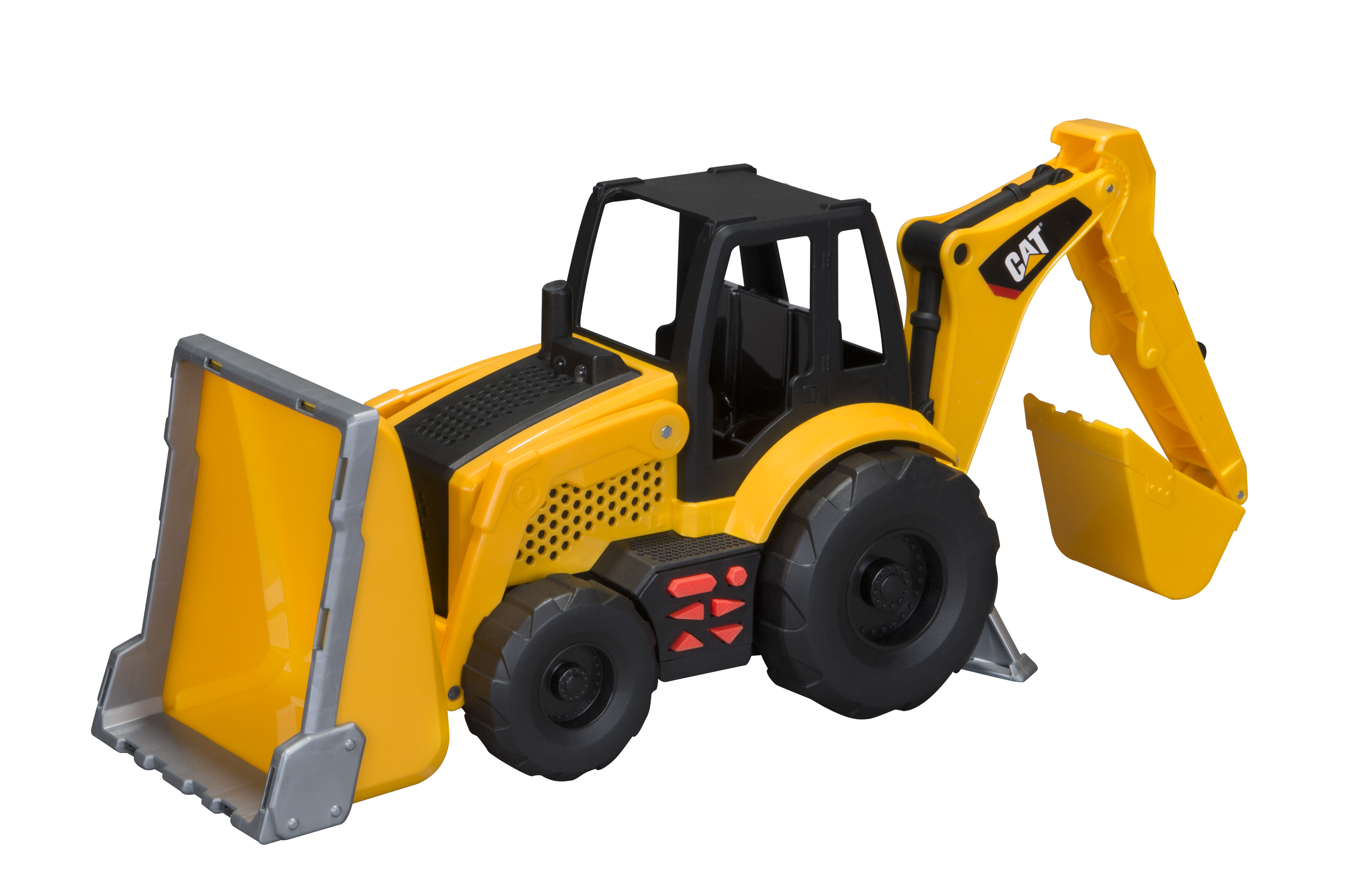 CAT Job Site Machines L&S Trucks Backhoe by Generic
