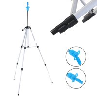 Hair Salon Adjustable Tripod Stand Cosmetology Mannequin Training Head Holder with Storage Bag