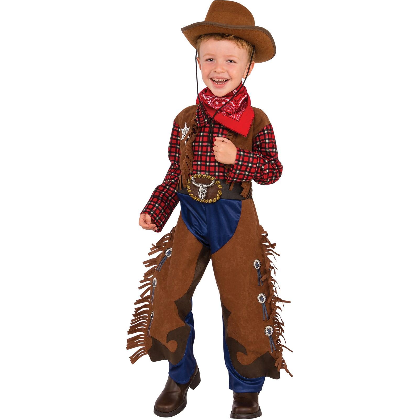 Boys Little Wrangler Costume