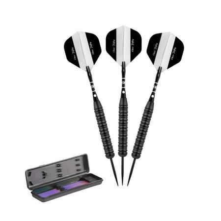 150 Dart (Elkadart Black 150 Jet Black Steel Tip Darts 24)