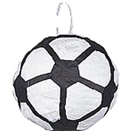 Soccer Ball Pinata with Pull String](Soccer Pinata)