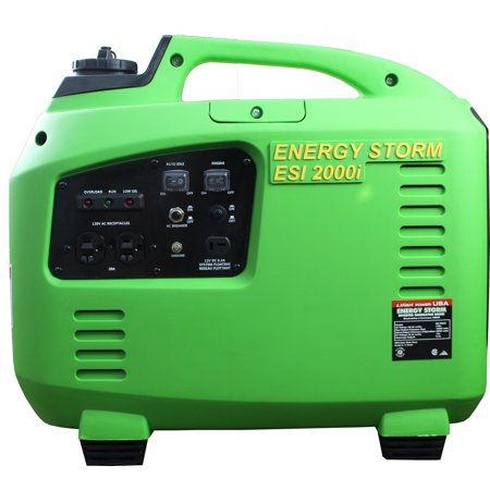 (Tailgater/Camping Special, Energy Storm ESi2000i-CA (California Sales Compliant) 105cc Gasoline Powered Inverter Generator, light weight power, 50 State and Canada Sales Compliant)