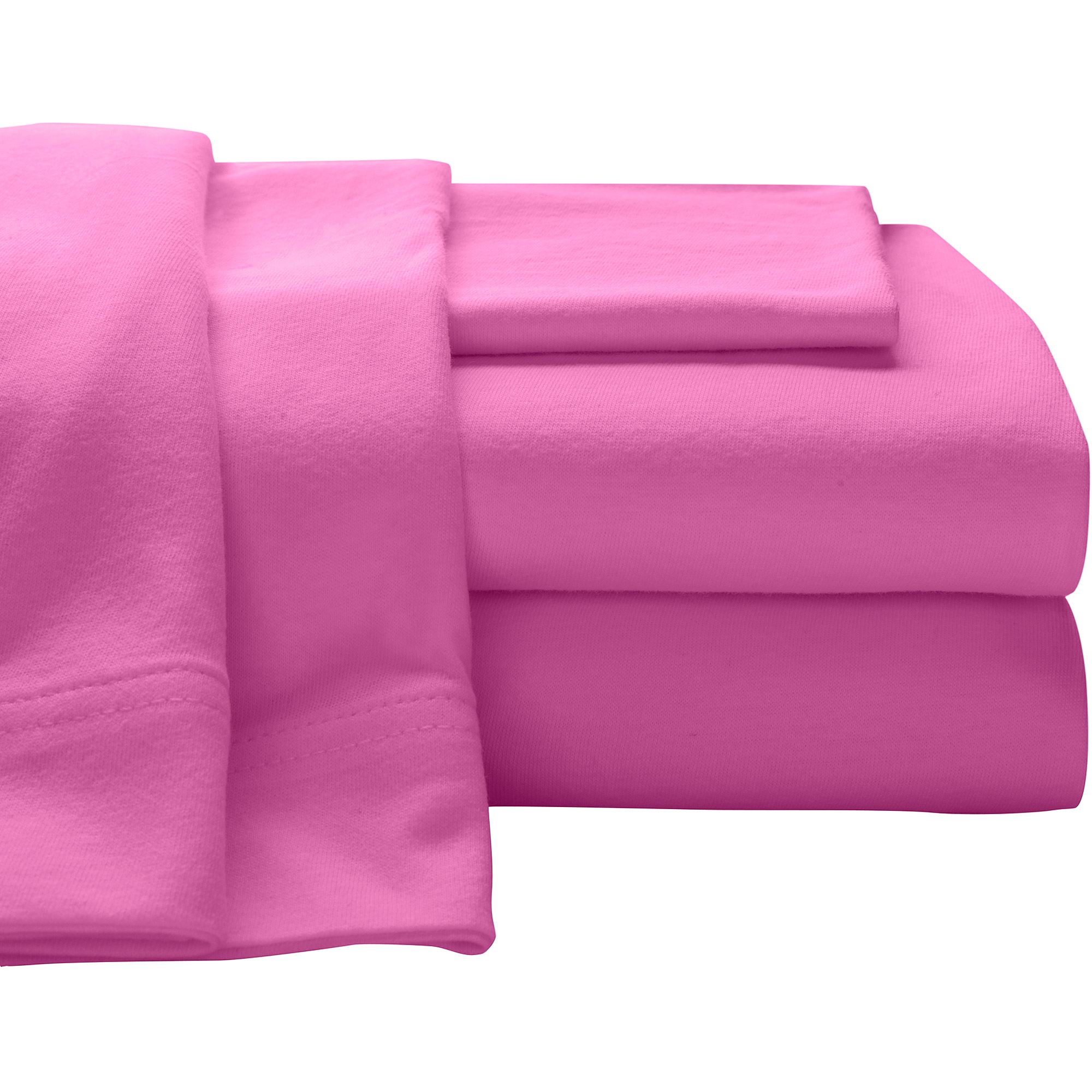 Super Soft 100% Cotton Jersey Sheet Set   Walmart.com