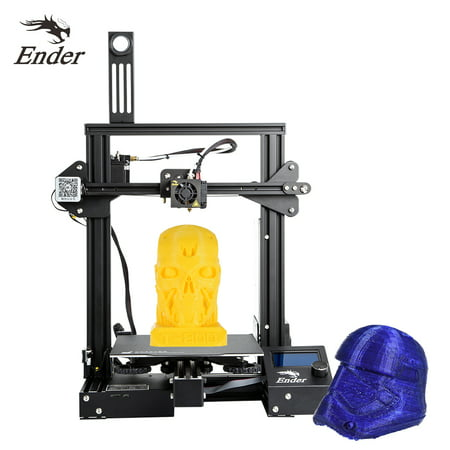 Creality 3D Ender-3 Pro High Precision 3D Printer DIY Kit MK-10 Extruder with Resume Printing Function Heatbed Support 220*220*250mm Printing Size for Home & School (Best Printer For Office Use)