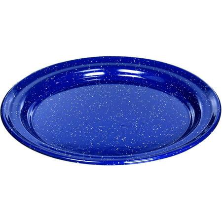 "GSI 10"" Enamelware Plate, Blue"