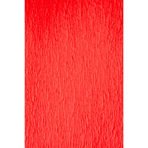 1 X Red Crepe Paper Fold, Crepe Paper Fold By Darice