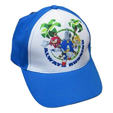Sonic The Hedgehog Group Shot Always Running Youth Hat (Sonic The Hedgehog Hat)