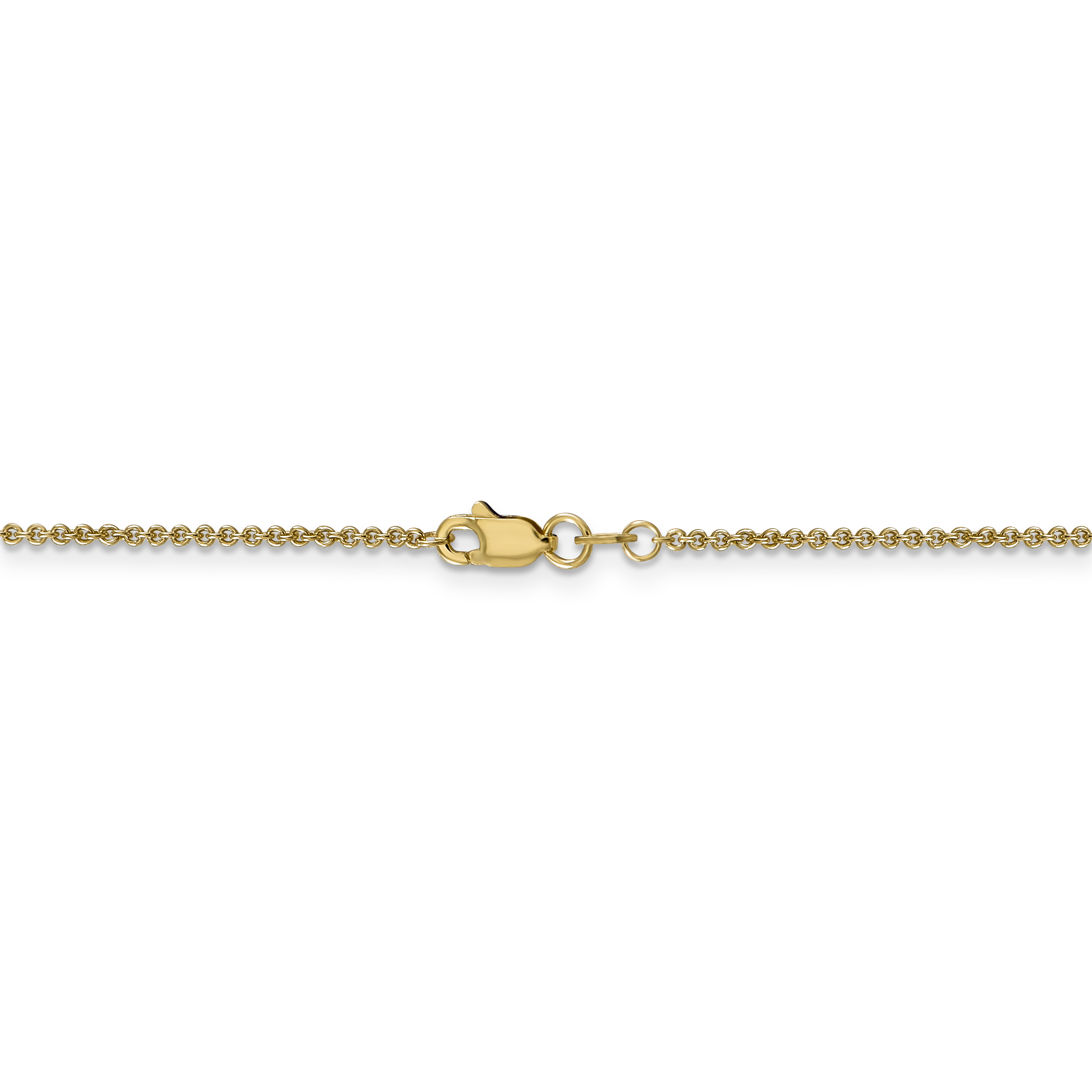14k Yellow Gold 1.5mm Link Cable Chain Necklace 30 Inch Pendant Charm Fine Jewelry Gifts For Women For Her - image 2 of 5