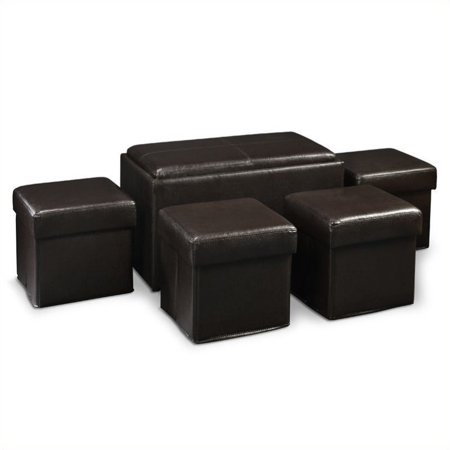 Prime Pemberly Row Storage Bench Ottoman In Espresso Caraccident5 Cool Chair Designs And Ideas Caraccident5Info